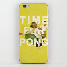 Time For Pong iPhone Skin