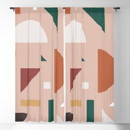 Abstract Geometric 31 Blackout Curtain