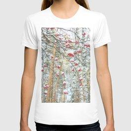 Winter Rowan and birchs T-shirt