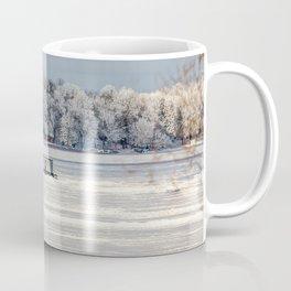 Afternoon Ice Fishing Coffee Mug