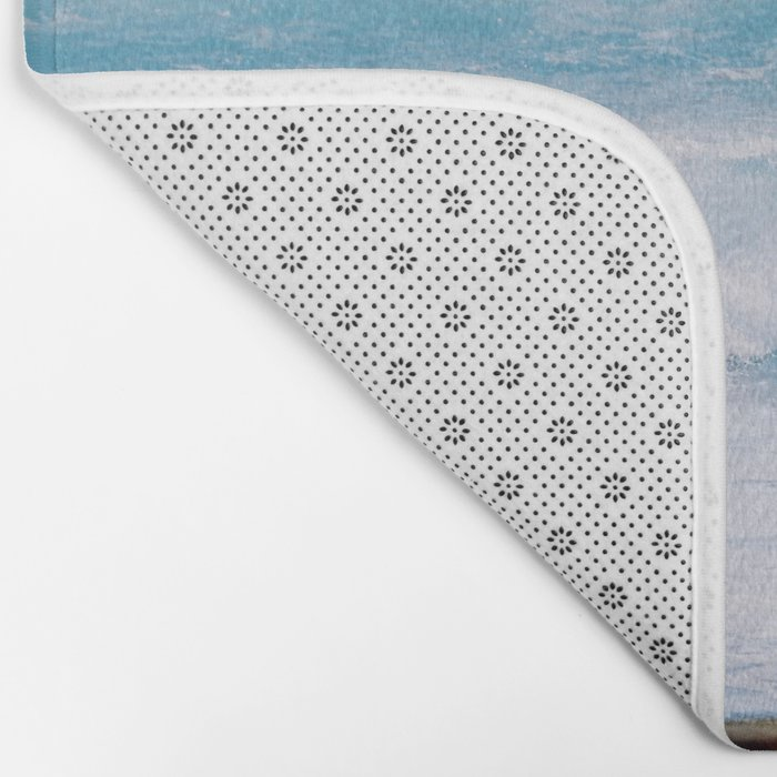 Pastel Ocean #waves Bath Mat