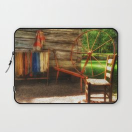 Yarnwork at the Mabry Mill Laptop Sleeve