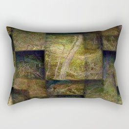 Forest on boxes Rectangular Pillow