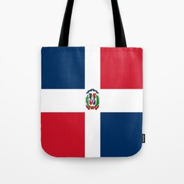 Flag of the dominican republic Tote Bag