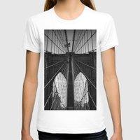brooklyn bridge T-shirts featuring Brooklyn Bridge by Photos by Vincent