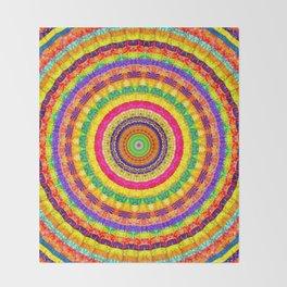 Batik Bullseye Throw Blanket