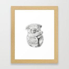 koala bear Framed Art Print