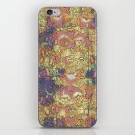 Mineral Map - Abstract Art iPhone Skin