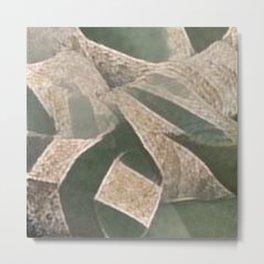Brick Boulders Metal Print