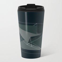 3d shapes Metal Travel Mug