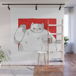 What if Baymax was a Cat Wall Mural