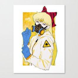 Laser Canvas Print