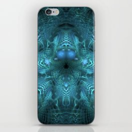 Juju Blue iPhone Skin