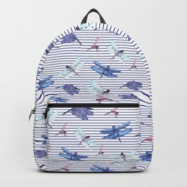 Dragonfly stripes Backpack