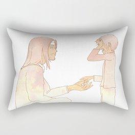 Erens Rubic Cube Rectangular Pillow