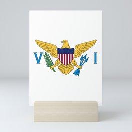 USVI US Virgin Islands designs Mini Art Print