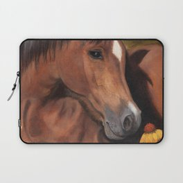 Little Brown Filly Laptop Sleeve