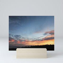 SUMMER SUNSET SC #1 Mini Art Print