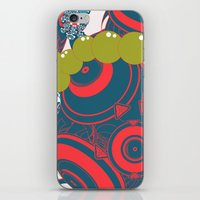 dragon ball iPhone & iPod Skins featuring ball by echo3005