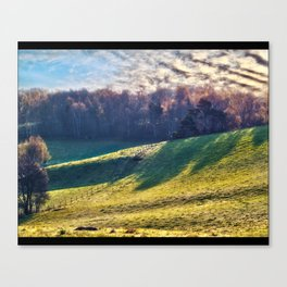 Chromatic Hills Canvas Print