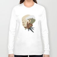 ghost in the shell Long Sleeve T-shirts featuring Ghost in the Shell by Alex Tim