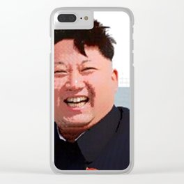 Supreme Leader Clear iPhone Case