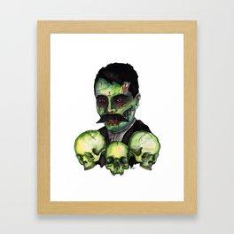 Zombie Emilliano  Framed Art Print