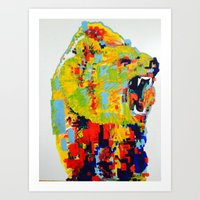 RainbowBear 2 Art Print