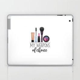 My Weapons Of Choice  |  Makeup Laptop & iPad Skin