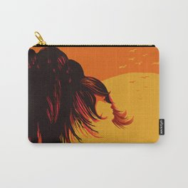 The Face in the Willow Tree at Sunset Carry-All Pouch