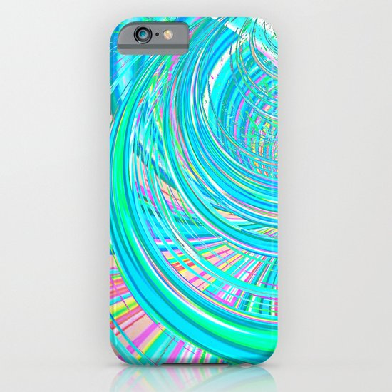 Re-Created  Hurricane 7 by Robert S. Lee iPhone & iPod Case