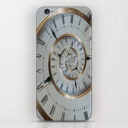 Time goes on and on.... iPhone Skin