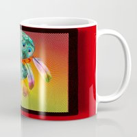 dreamcatcher Mugs featuring Dreamcatcher by Ganech joe