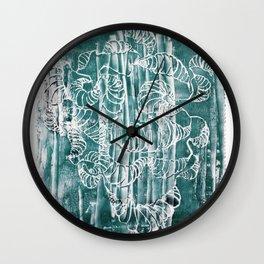 POLYCEPHALY Wall Clock