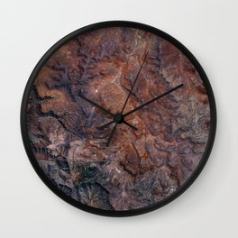 Roggeveld Mountains I South Africa Wall Clock