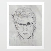 tyler oakley Art Prints featuring Tyler Oakley by EleanorOrchard