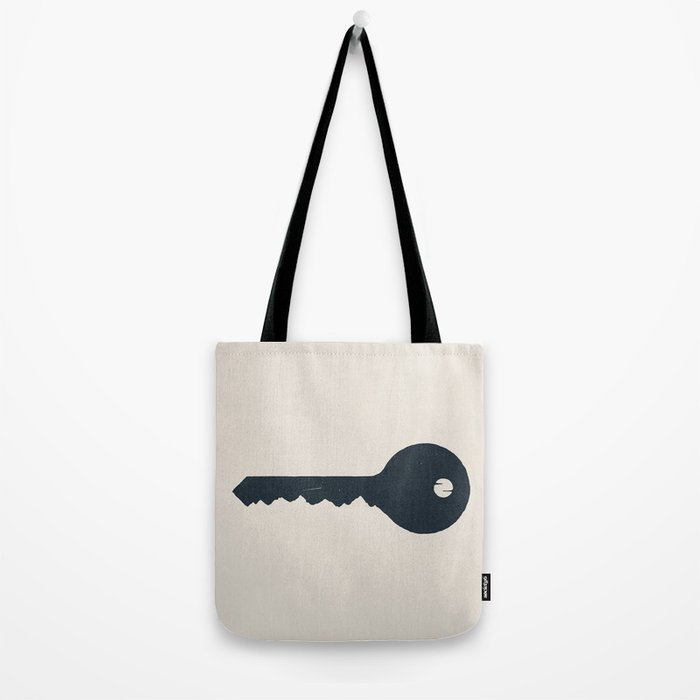The key of the Mountain Tote Bag