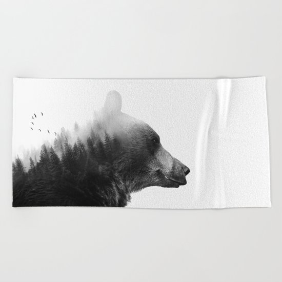 Big Bear Beach Towel