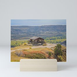 Badlands Overlook, Theodore Roosevelt NP, ND 30 Mini Art Print