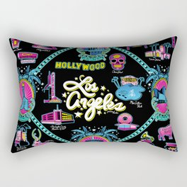 Welcome to Los Angeles! Rectangular Pillow