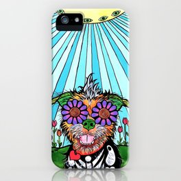 Scruffy Terrier iPhone Case