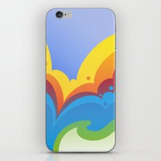 Rainbowmatic iPhone & iPod Skin