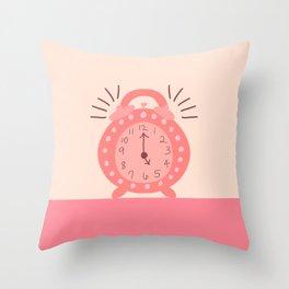 Wake Up Beautiful Throw Pillow