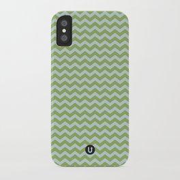 U14: algae chevron iPhone Case