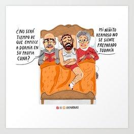 Colecho Art Print
