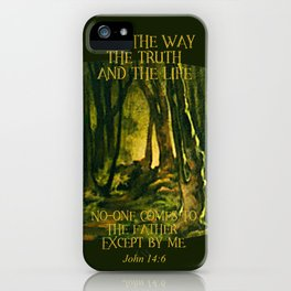 I Am The Way iPhone Case