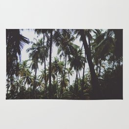 FOREST - PALM - TREES - NATURE - LANDSCAPE - PHOTOGRAPHY Rug