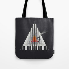 Cosmic Piano Tote Bag