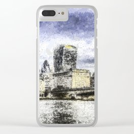 City of London Art Clear iPhone Case