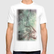 hand Mens Fitted Tee White SMALL